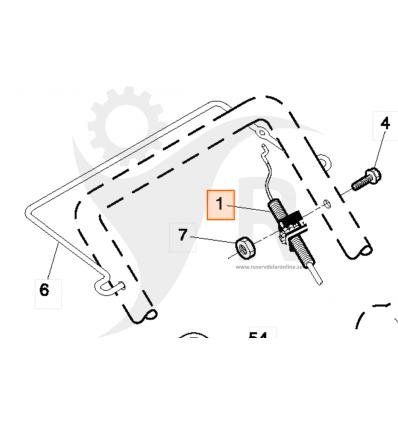 McCulloch drivvajer 6553 CM, M675B56 SD, 5321891-82 - 1
