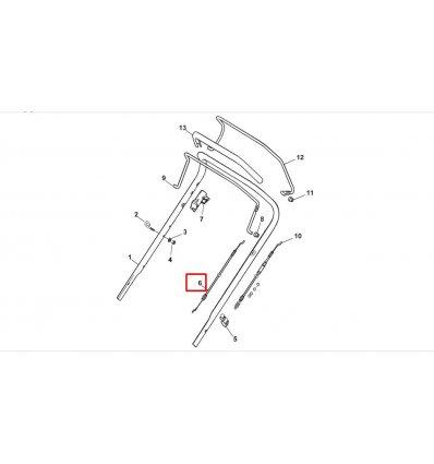 Kända STIGA Motorbromsvajer 181030053/0 Combi 53 SEQ, COLLECTOR 46 B TO-66