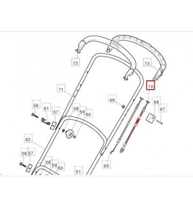 STIGA Kopplingsvajer Multiclip 46S,  Plus 381000694/0 - 1